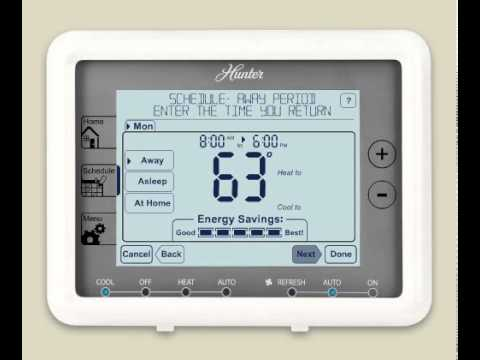 hunter 44905 support and manuals hunter 44668 thermostat wiring diagram #4