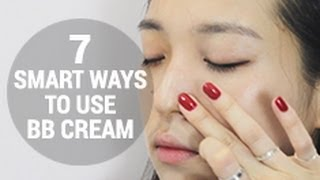 How to apply BB Cream? 7 different ways to wear BB cream.
