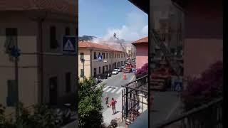 Fumo da canna fumaria via Nazionale 18 giugno 2018 b