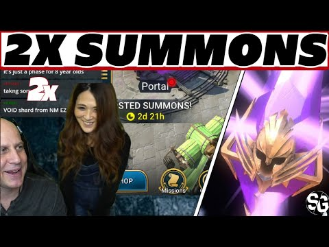 2x Void 2x the fun! Wife invades Raid Shadow Legends 2x void summons