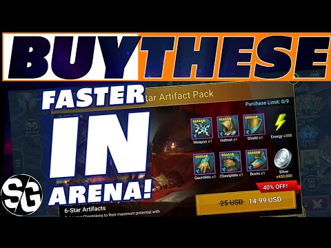 SPEED ARTIFACT DEAL DISCOUNTED! I PURCHASED ALL NINE! SHOULD YOU? RAID SHADOW LEGENDS