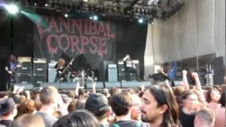 Cannibal Corpse - Evidence in the furnace - Live @ Gods of Metal 2010
