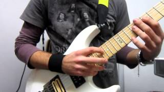 Dream Theater - The Root Of All Evil Tapping Solo Cover by KosimoRock