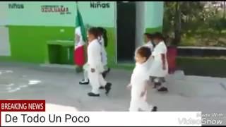 El niño marchando ( Mexican boy marching)