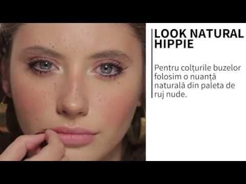 Look natural hippie