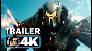 PACIFIC RIM 2: UPRISING Official Trailer [4K ULTRA HD - 2018] Sci-Fi Action Movie