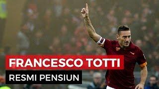 Francesco Totti dan Tangisan Kota Roma