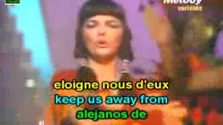 Learn French with translated songs: Mireille Mathieu, Jambalaya; canciones traducidas