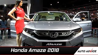 2018 Honda Amaze launched! First look