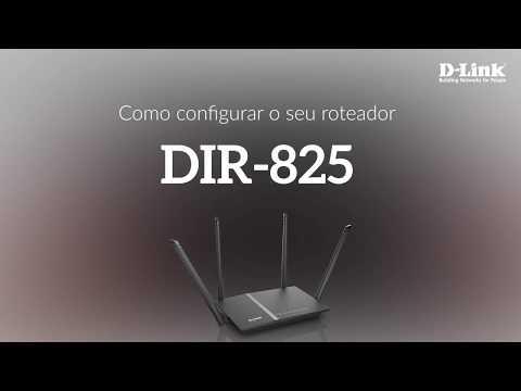 Como configurar o seu roteador DIR-825