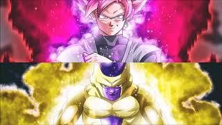 Custom Themes: Goku Black vs Golden Frieza