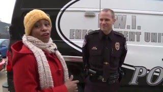 Creve Coeur Police Shows off DWI Enforcement Van on FOX2 News at 9AM