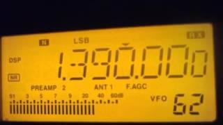 1390 kHz [Pres.] Radio Vitoriosa , Uberlandia / MG , passando PX da IPDA
