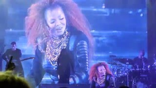 "Janet Jackson Unbreakable Tour ""Scream"""
