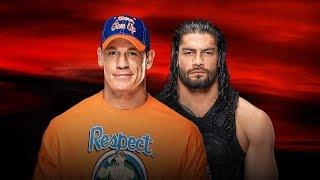 John Cena vs Roman Reigns Promo | WWE No Mercy 2017