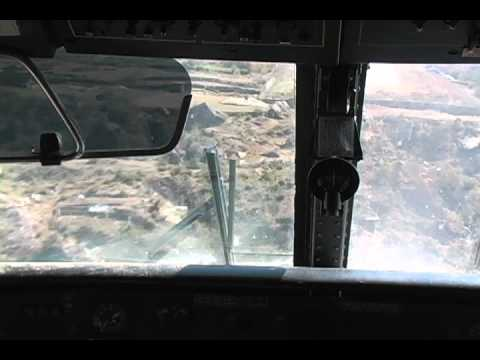 Landing at Lukla.mov