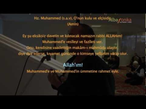 Isak Zendeli (Bilbili) -  Ezan (Türkçe/Arapça)