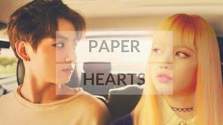 Jungkook X Lisa ㅡ Paper Hearts [FMV]