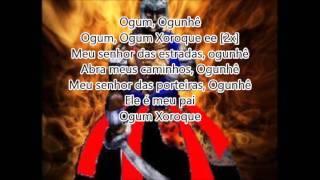 Ponto de Ogum Xoroque -  Letra