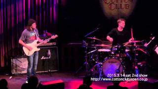 WAYNE KRANTZ with ANTHONY JACKSON & CLIFF ALMOND : LIVE @ COTTON CLUB JAPAN  (Mar.14,2015)