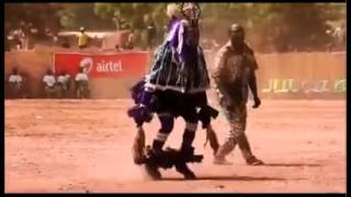 Bizarre contact Crazy astronaut ( dancing canival)