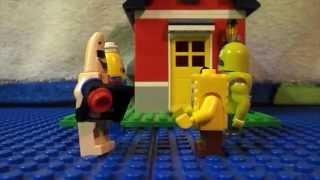 """Lego spongebob Episode 7 """"GumBot"""""""