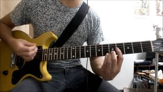 Stray Heart Green Day Guitar Cover SOLO how to play TAB
