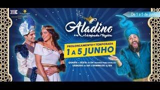 Aladino e a Lâmpada Mágica - UCI Cinemas - Teatro no Cinema