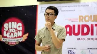 [Round 1 - SingToLearn 2014] SBD 22 - Nguyễn Võ Hải Triều