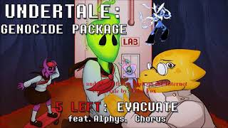 Evacuate Man on the Internet Undertale Genocide Package Cover