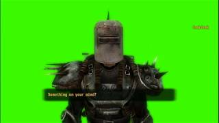 Fallout NV: Cook-Cook Green Screen