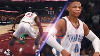 OFFICIAL 5V5 NBA Live 18 Gameplay Trailer Remixed