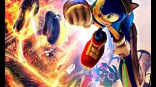 Sonic Riders Zero Gravity Dive into Gravity
