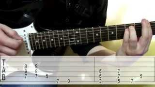 Audioslave - Cochise how to play tab cover guitar lesson