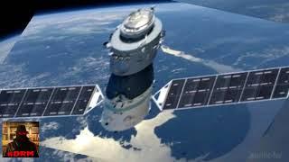 Estação Espacial Chinesa caindo (imagens divulgadas)