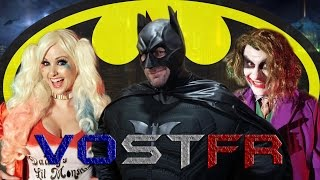 Batman song parody! Feat. Harley Quinn & Joker - Superheroes In Real Life VOSTFR