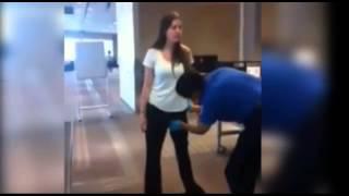 Cacheo abusibo en aeropuerto
