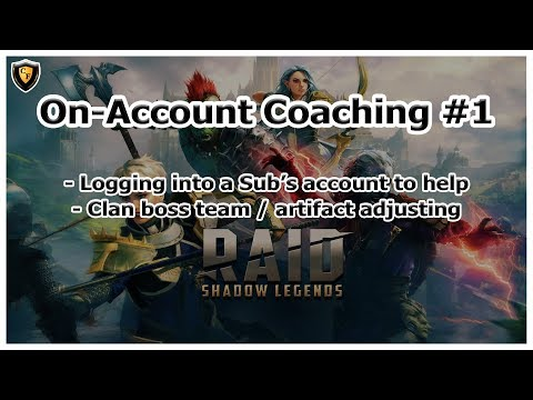 RAID Shadow Legends | On-Account Coaching #1