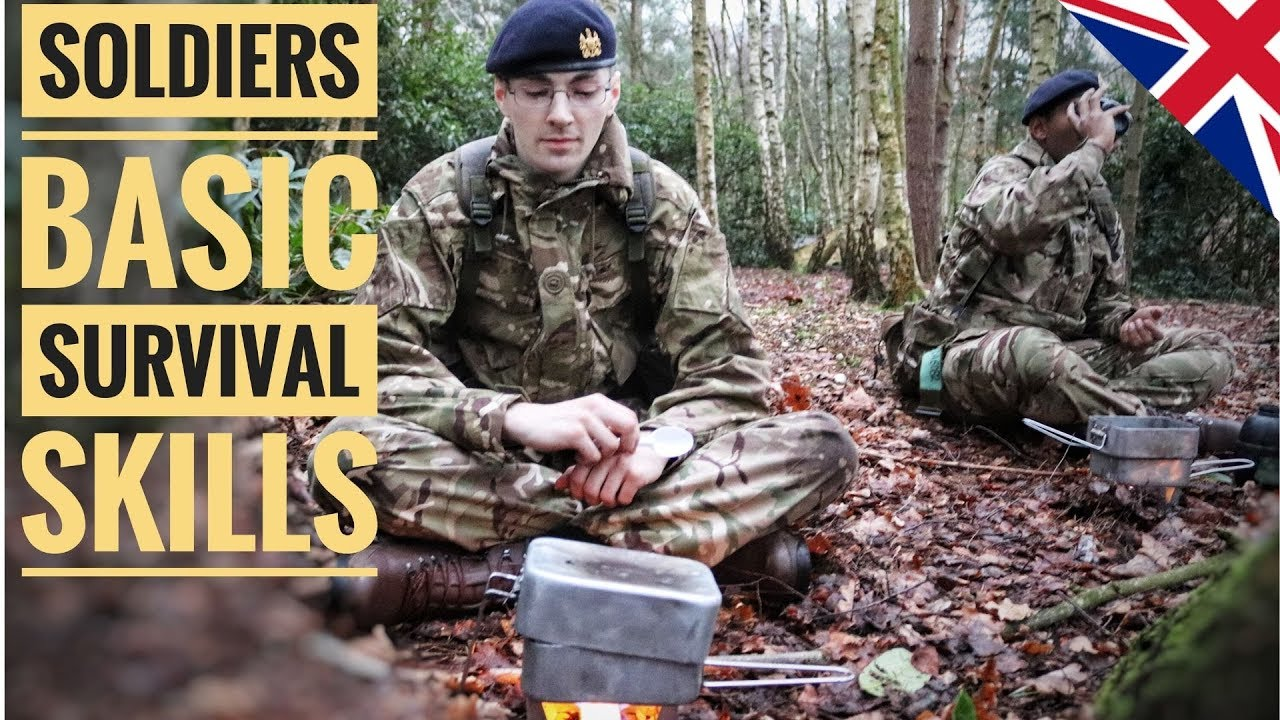 Basic Military Skills You Need To Know | British Army |