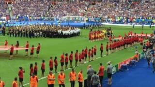 Hino de Portugal - A Portuguesa - Final da Euro 2016