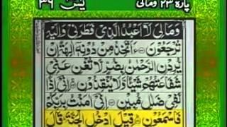 Surah Yaseen With Full Urdu Translation. Qari Abdul Basit - HD width=