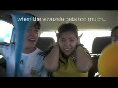When the sound of the vuvuzela starts getting to you