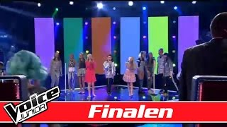 De unge talenter synger: MIKA - We are golden - Voice Junior Danmark - Finalen
