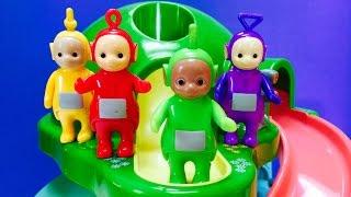 Teletubbies Ride Down Mini Dome Slide Toy