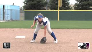 2017 Sarah Gonzalez Power Hitter, 3rd Base and 1st Base Softball Skills Video