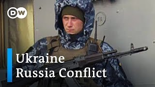 Ukraine strenghtens naval forces in the Sea of Azov | DW News