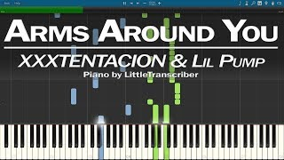 XXXTENTACION & Lil Pump ft. Maluma & Swae Lee - Arms Around You (Piano Cover) by LittleTranscriber