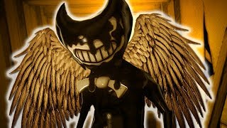 NEW ALL Jump Scares in Bendy And the Ink Machine Chapter 1