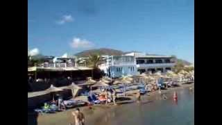 Nana Beach, Crete. Пляж Нана, Крит.