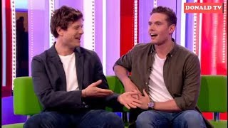 BBC The One Show 7/1/2019 James Norton and Tom Brittney